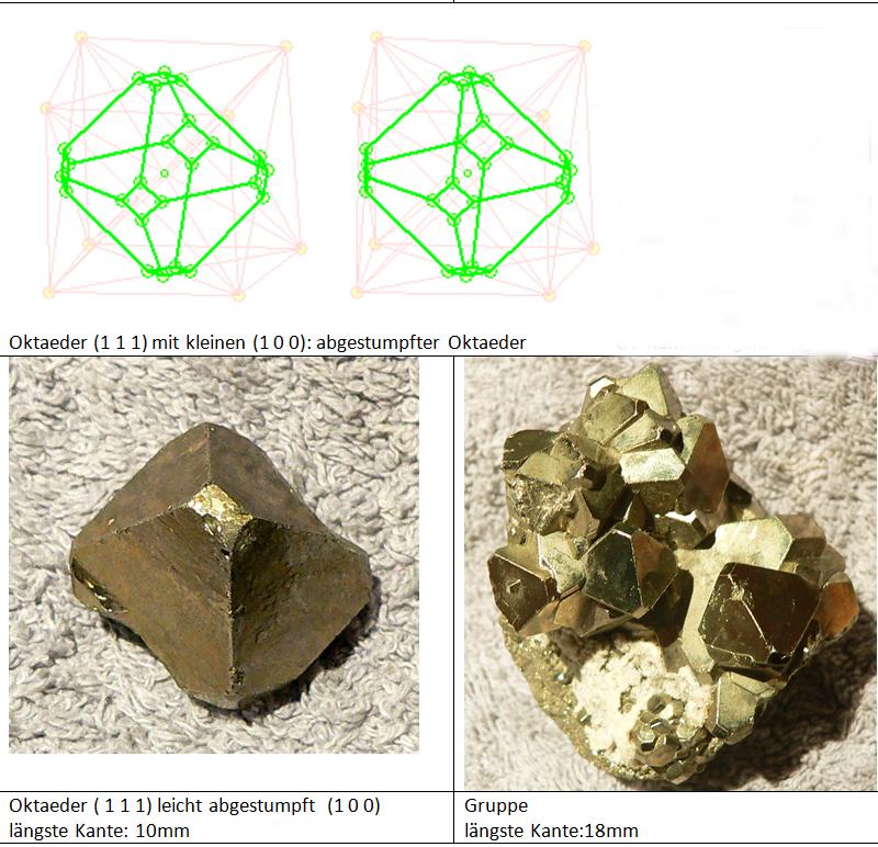 Oktaeder aus Peru